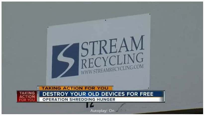 Dispose Old Electronics For Free and Feed the Hungry