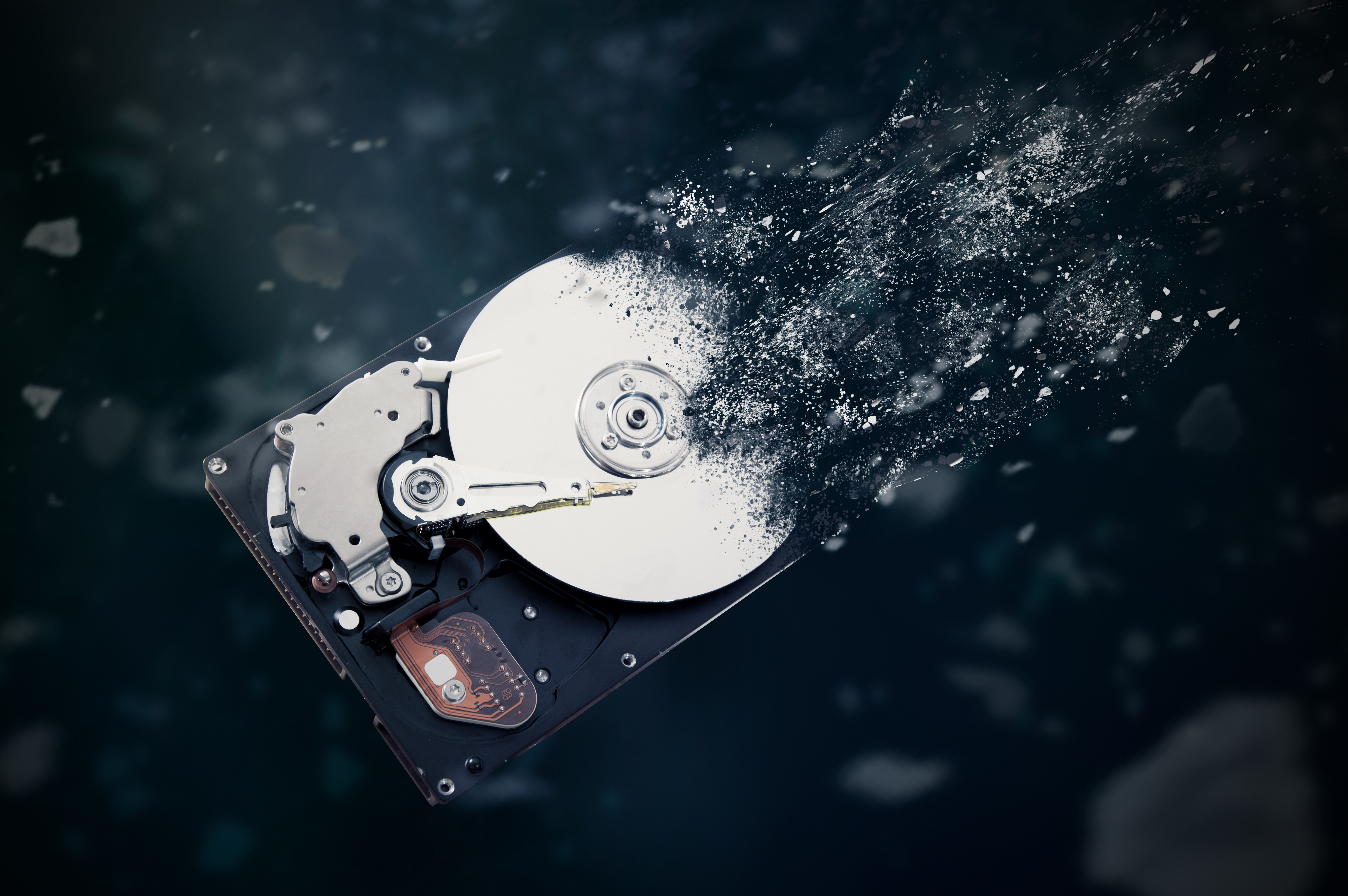 How to Properly Destroy a Hard Drive