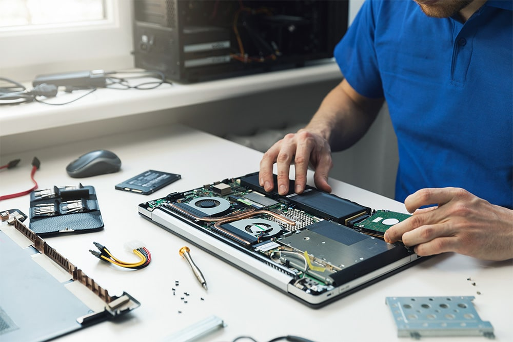 how are electronics refurbished